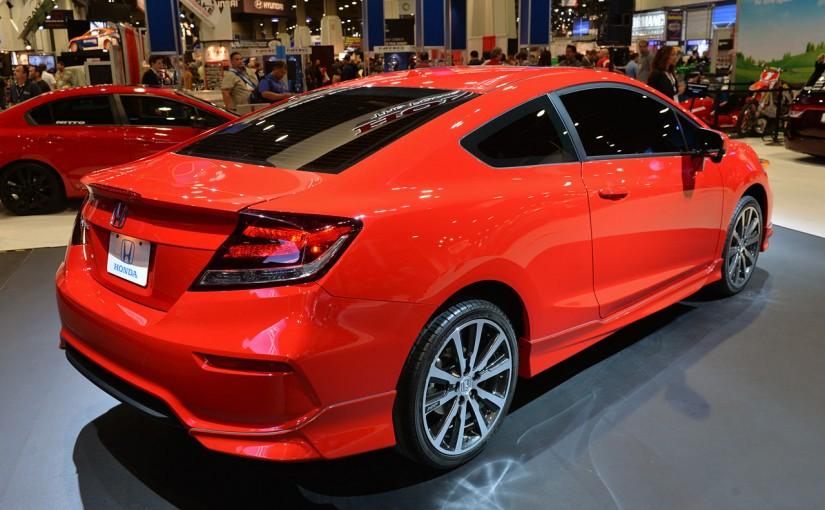Dévoilement des Honda Civic coupé et Si 2014