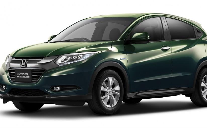 Honda dévoile un nouveau VUS urbain : le Vezel