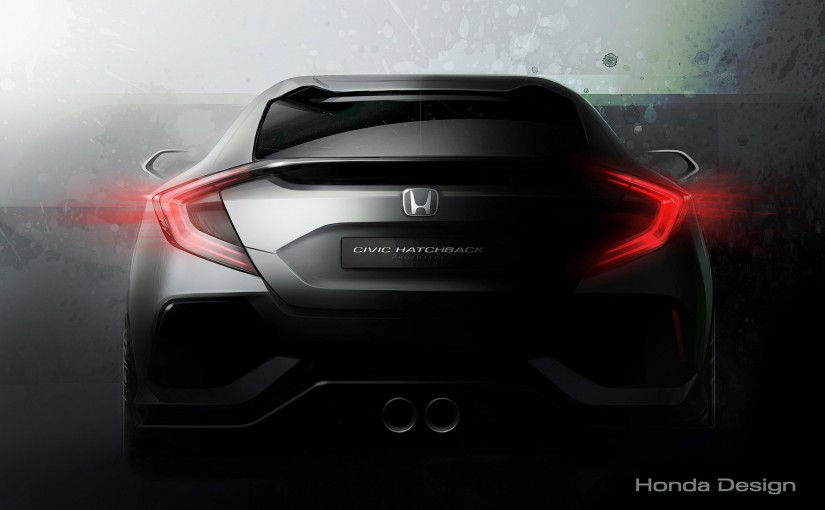 Première photo du Civic Hatchback 2016