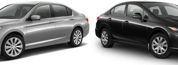 Honda Civic ou Honda Accord?