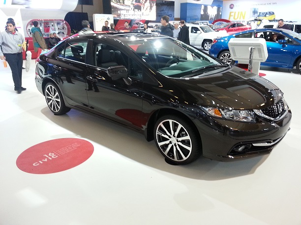Honda au Salon de l'auto de Montréal