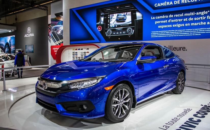 Le coupé Civic 2016 enfin dévoilé