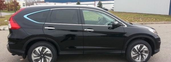 Le Honda CR-V 2015 sur les routes du Québec