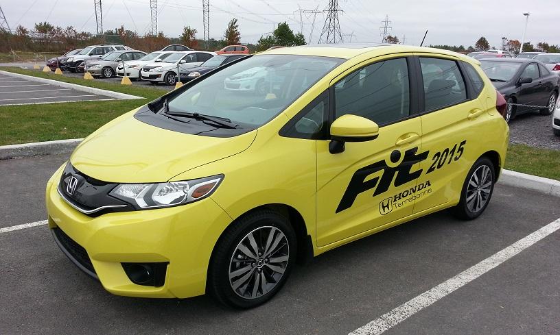 La Honda Fit 2015 : dans les plus petits pots les meilleurs onguents