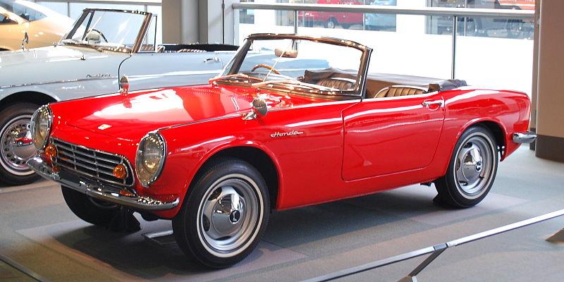 Les bijoux du passé : la série S de Honda
