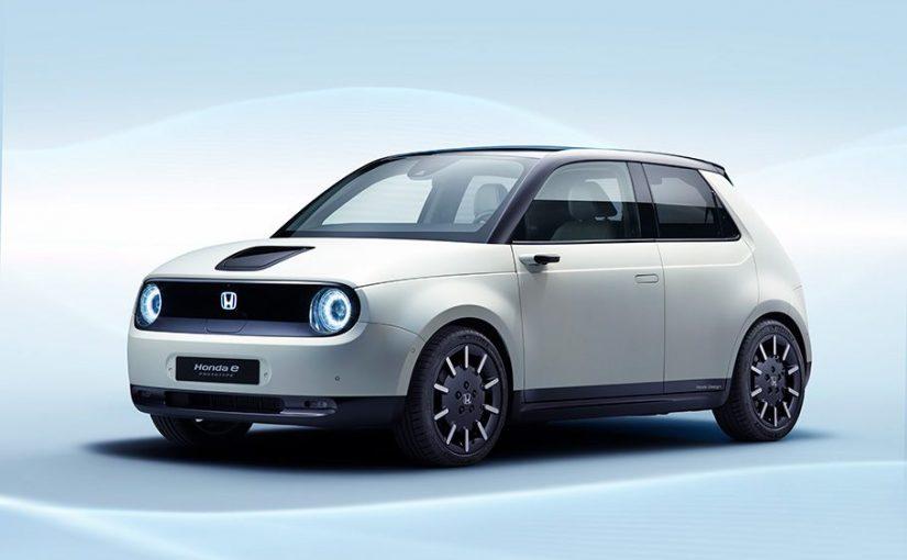 Le Honda e Prototype dévoilé au Salon international de l'auto de Genève