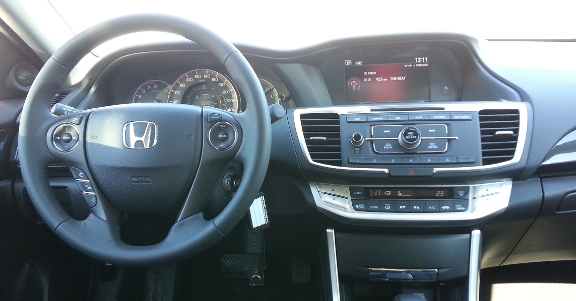 interieur honda accord sport 2014