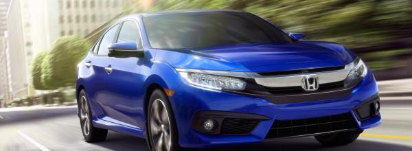 La Honda Civic 2016 remporte déjà de nombreux prix
