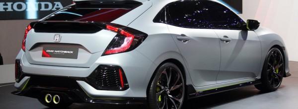 La fière allure de la Honda Civic « hatchback » 2017