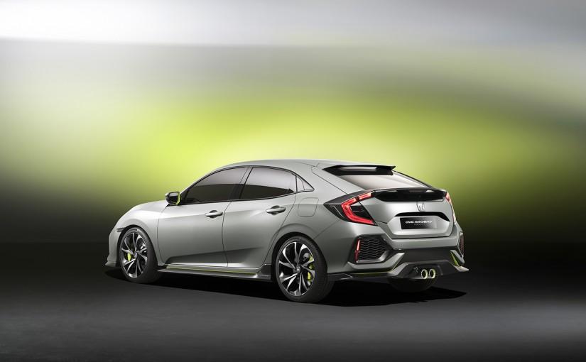 La Honda Civic hatchback 2017 enfin dévoilée