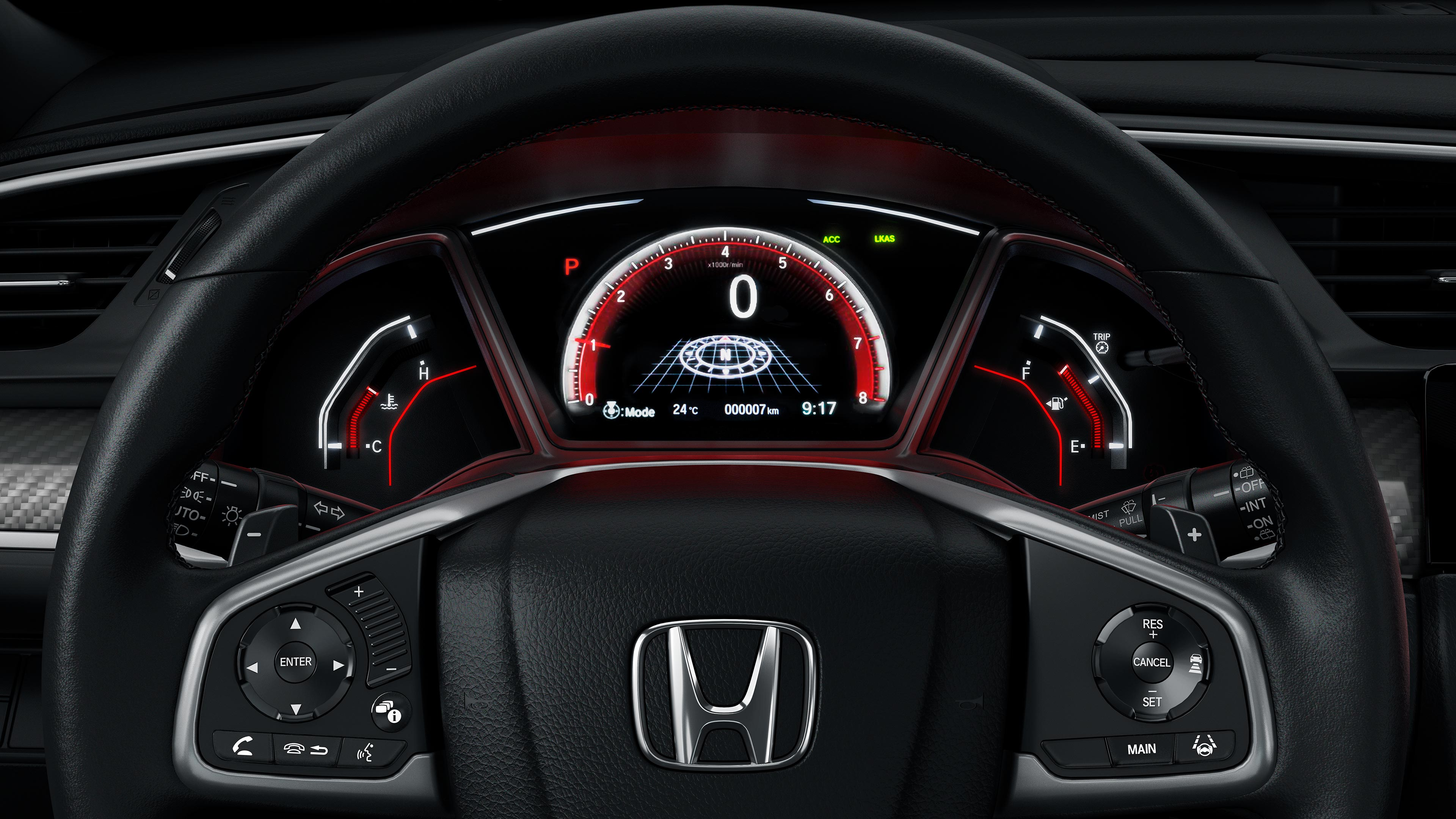 Cinq raisons pour se procurer la nouvelle honda civic for Honda civic 8 interieur