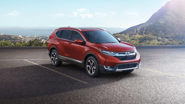 5 nouveautés sur le Honda CR-V 2017