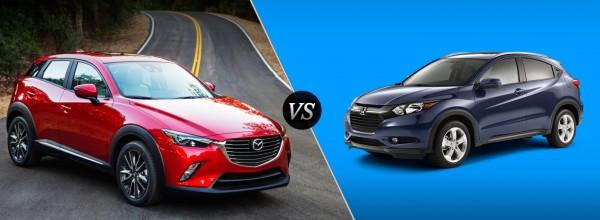 Honda HR-V et Mazda CX-3 : Quel est le grand gagnant?