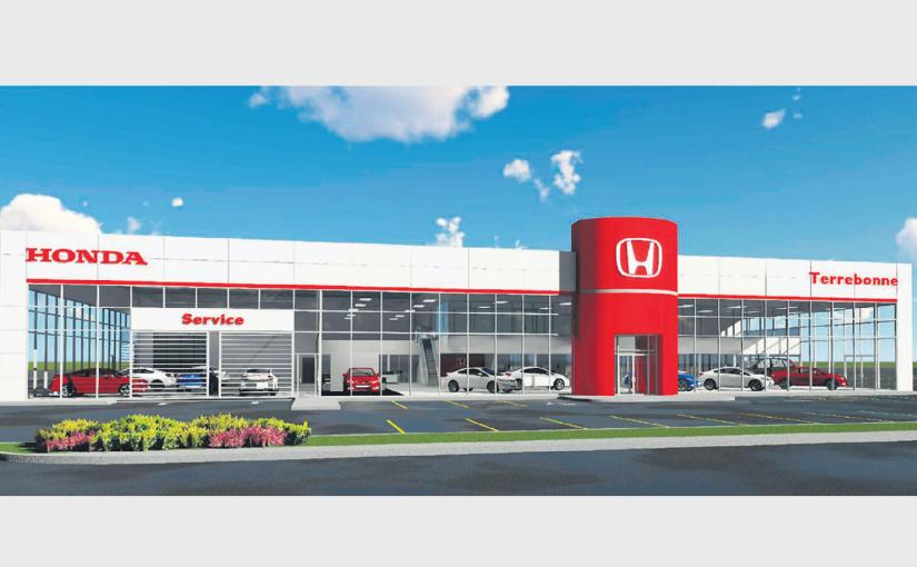 Le concessionnaire Honda de Terrebonne fait peau neuve