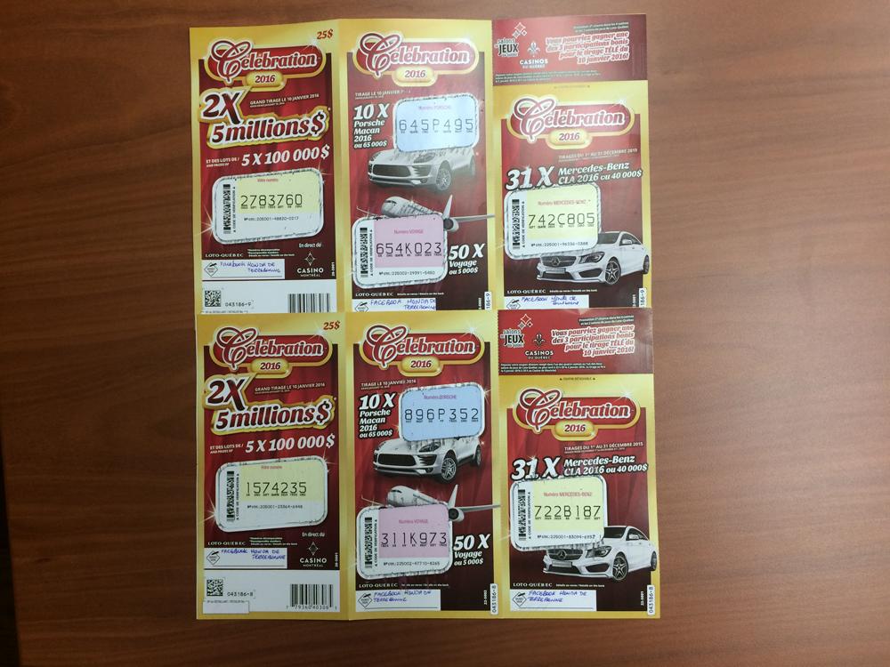 Honda De Terrebonne >> Concours: Billets de loterie sur Facebook Celebration 2016 ...